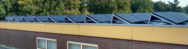 Project zonnepanelen.